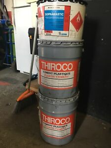 Thiroco plastic cement