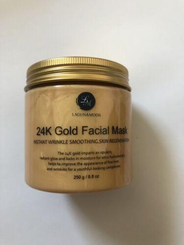 24K Gold Face Mask For Wrinkles And Skin Regeneration