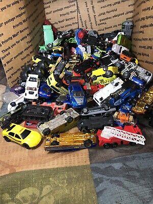 130 Count Toy Cars Matchbox, hot wheels, Maisto, McDonald's Die Cast Cars-Trucks Maisto Toy Cars