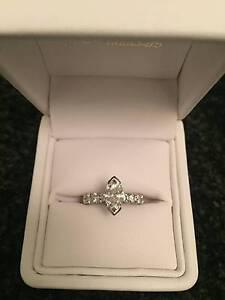 Diamond Engagement Ring 1.62ct Melbourne CBD Melbourne City Preview
