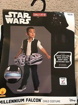 Star Wars Millennium Falcon Toddler costume (one size) 2T-4T NEW by - New Falcon Kostüm