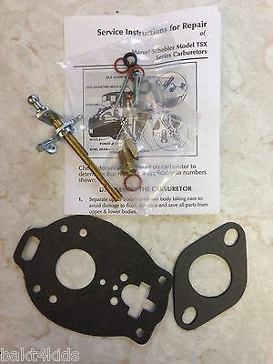 Ford Tractor Naa 600700 Marvel Schebler Carburetor Kit Tsx-428tsx-580