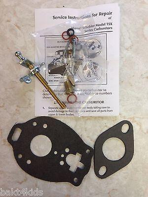 Carburetor Kit Tsx-363 Oliver Tractors 66hc77hcsuper66660marvel Schebler