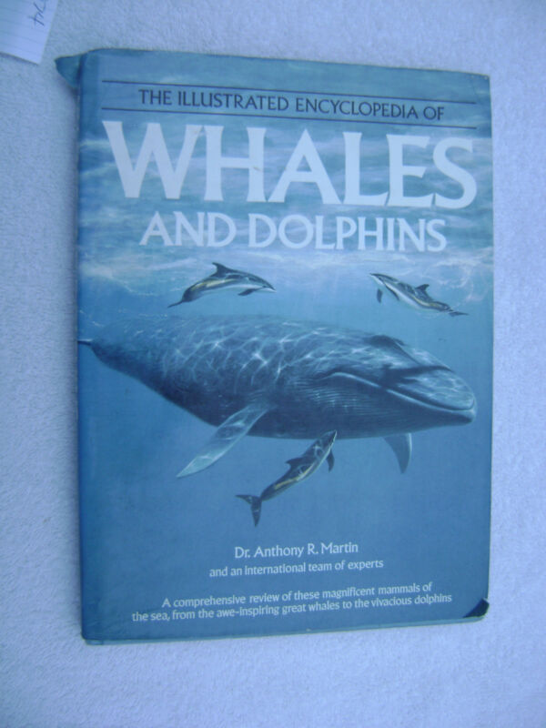 WHALES AND DOLPHINS BOOK MARITIME NAUTICAL MARINE (#074)