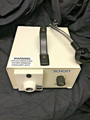 Schott Fostec Fiber Optic Power Supply