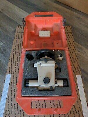 Vtg David White Realist Instruments Universal Lt8-300 Level Transit Orig Case