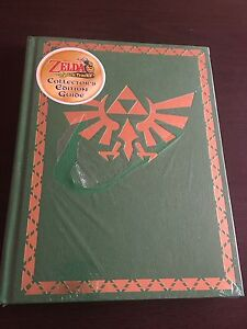 Zelda spirit tracks guide BOOK collector edition hard cover NEUF