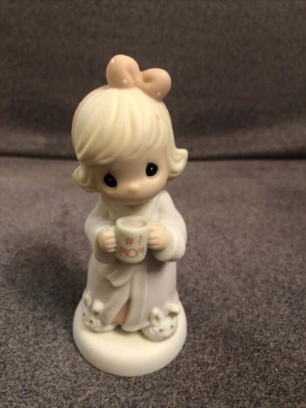 Precious Moments Little Moments Figurine By Avon Thank You For The Time #1 Mom