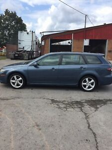 2006 Mazda6 V6  Wagon GT with Navi and Safety !