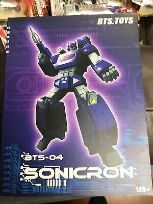BTS Toys Sonicron MISB NEW 3rd Party Soundwave