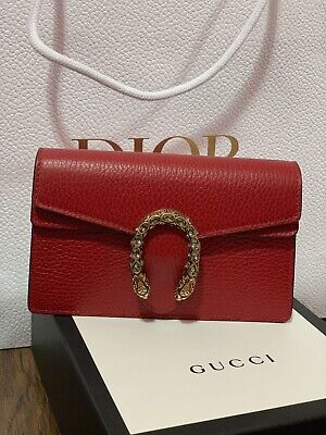 gucci super mini dionysus red