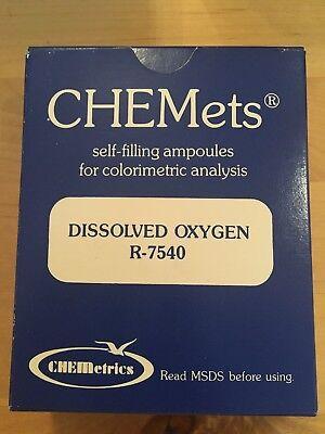 Chemetrics Dissolved Oxygen Rhodazine Refill Kit R-7540