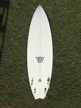 "5'11"" Simon Anderson Quad Surfboard Tweed Heads South Tweed Heads Area Preview"