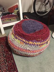 Handmade boho poof ottoman bean bag etc Nicholls Gungahlin Area Preview