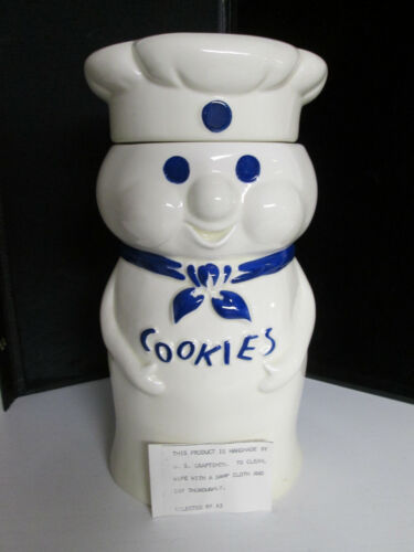 Pillsbury Doughboy Cookie Jar 1973