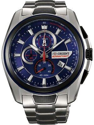 ORIENT STZ00001D0,Men's Speedtech Chronograph,Stainless,Sapphire,Date,100m WR,