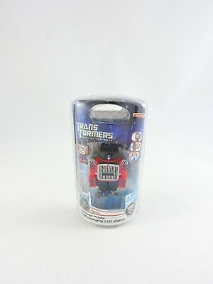 Optimus Prime Changing LCD Watch TRANSFORMERS Dark of the Moon DOTM NEW wrist
