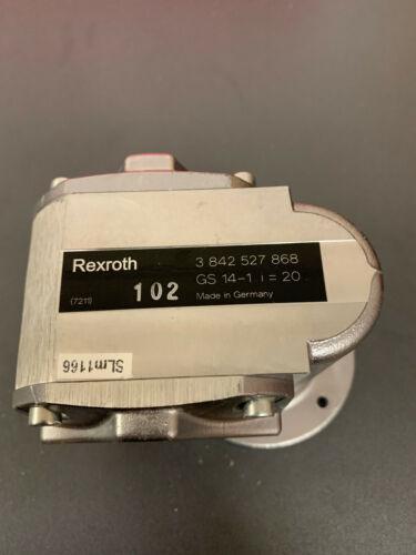 2pcs Bosch Rexroth motor gear reducer  3 842 527 868