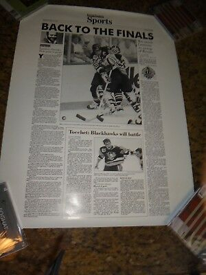 1992 Nhl Stanley Cup   Pittsburgh Penguins   Back To The Finals   Post Gazette