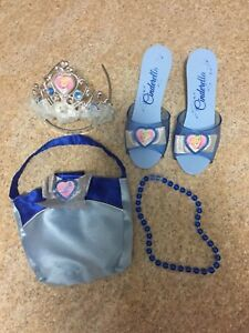 Cinderella and Sofia dress up slippers & accessories