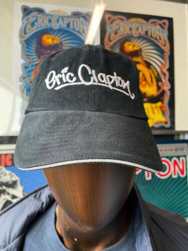 ERIC CLAPTON 2009  JAPAN TOUR BLACK COTTON CAP