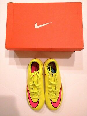 d7728d9384c4 New Nike Mercurial Victory V IC Junior Indoor Soccer FUTSAL SHOES size 1Y