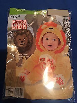 Infant Little Lion Halloween Costume 0-6 months, or 6-12 months](Lion Halloween Costume Infant)