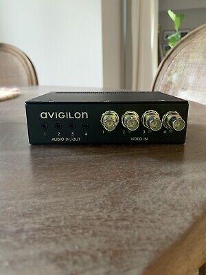 Avigilon Video Encoder Enc-4p-h264 Analog To Digital