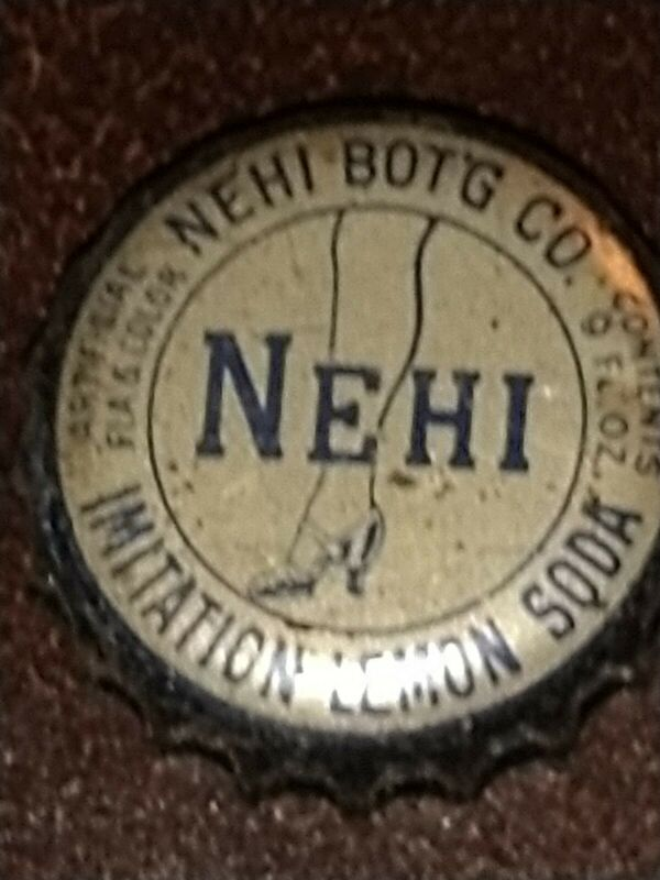 Nehi Cork Back Bottle Cap