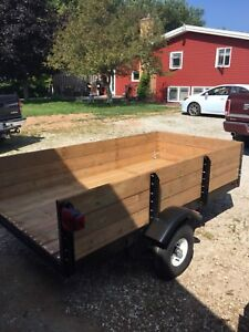 4-wheeler or utility trailer