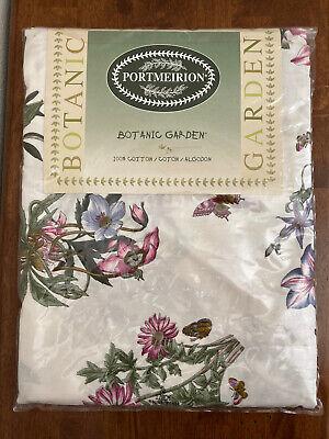 """Portmeirion Botanic Garden 100% Cotton 70"""" Round Tablecloth - BRAND NEW!"""