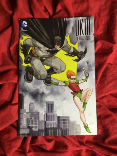 BATMAN DARK KNIGHT III MASTER RACE #1~JILL THOMPSON VARIANT~1st PRINT SOLD OUT~