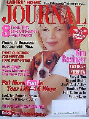 Kim Basinger  February 1998 Ladies Home Journal Magazine