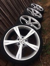 19inch Holden Ssa rims cv8 look a likes wheels alloys tyres mags Gisborne Macedon Ranges Preview
