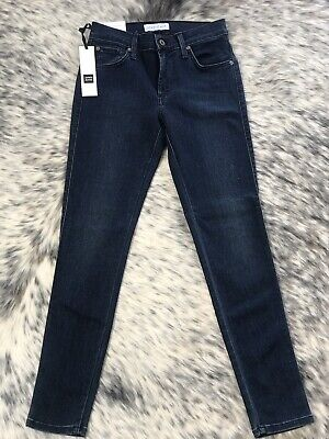 James Jeans Twiggy Ankle Cult Soft Jeans 26 BNWT -super Flattering