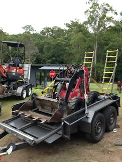DIY Mini Diggers Qld. Dingo hire from $175 ph: