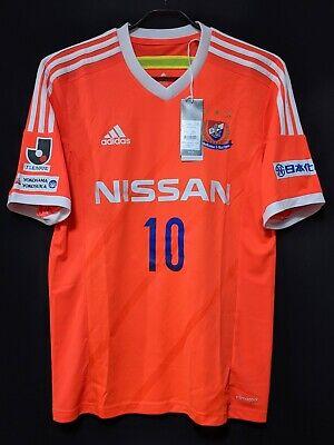2014 Yokohama F.Marinos Away Jersey Soccer Shirt (Japan Size M) adidas *BNWT* image