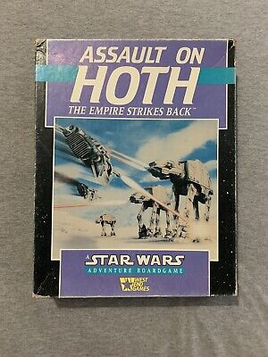 Star Wars Assault On Hoth West End Games RPG