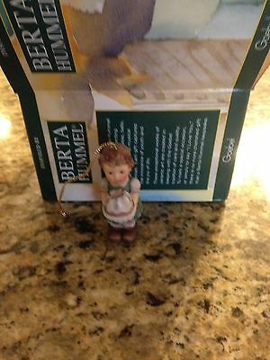 NEW IN BOX VERY CUTE BERTA HUMMEL CHRISTMAS BIRTHDAY ORNAMENT FREE SHIPPING
