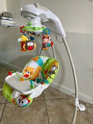 Fisher-Price Rainforest Baby Swing, multicolor