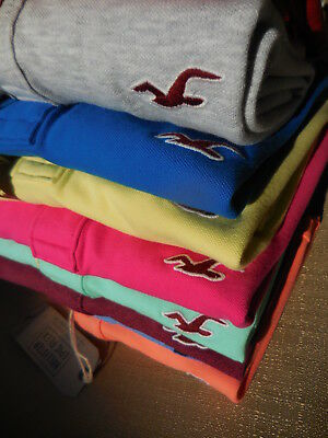Hollister Guys Stretch Pique Icon Polo All Sizes New Red Blue White Yellow Gray
