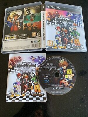 KINGDOM HEARTS HD 1.5 REMIX (I) on PS3 USED COMPLETE
