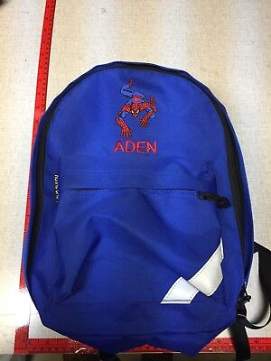 PERSONALIZED ADEN ROYAL BAG SPIDERMAN KIDS BACKPACK MARVEL COMICS COLLECTIBLE - Personalized Kids Back Packs