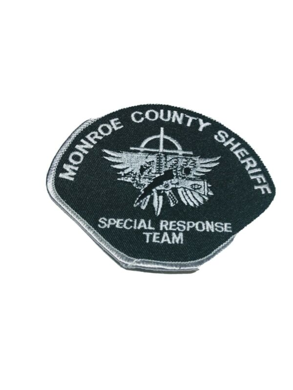 F Police patch patches Monroe county sheriff Special Response Team SRT subdued