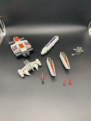 Vintage Battlestar Galatica Mattel 1978 Firing Missiles Probe Scarab Pilot