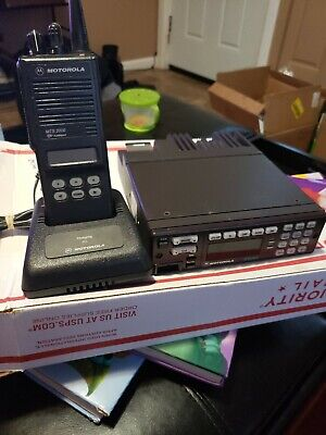 Motorola 800mhz Trunking Radio Bundle