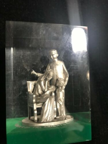 Knights of Columbus Lucite Embedment – Father McGivney