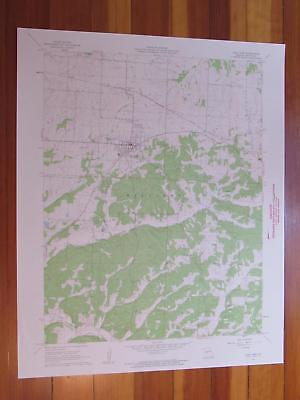 Cole Camp Missouri 1962 Original Vintage USGS Topo Map