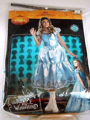 Disney Alice Adult Size 12-14 Costume Halloween Party Trick Or Treat Theater   - Disney Halloween Trick Or Treat Party