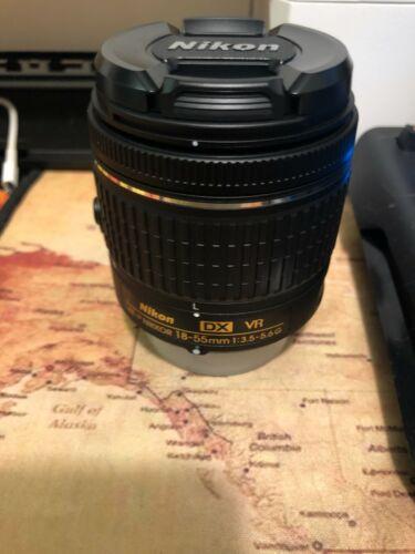 Nikon AF-P DX Nikkor 18-55mm f/3.5-5.6g VR lens, New out of box (no box).